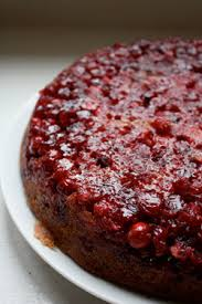 ben and birdy cranberry upside down cake