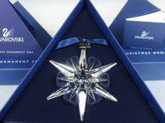swarovski annual snowflake ornament 2003 coa 3 new
