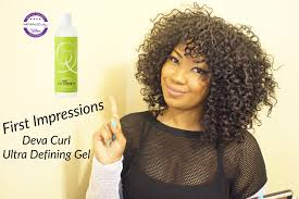 light gel for curly hair first impressions deva curl ultra defining gel curly monroe youtube