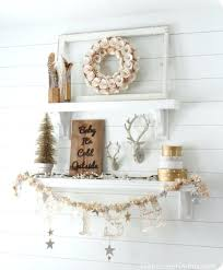 kitchen shelf decorating ideas decorated shelves winter mantel and shelf decorating ideas
