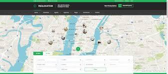 Realtor Com Map Real Estate Website Templates 25 Examples U0026 How To Choose