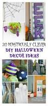 Diy Halloween Decor 20 Monstrously Clever Diy Halloween Decor Ideas Refined Rooms