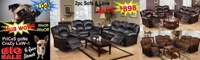 Recliner Sofas On Sale A Discount Furniture Quality Furniture Low Prices