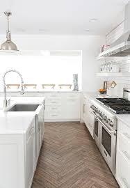 Kitchen Ceramic Floor Tile Kitchen Porcelain Tile Floor Kitchen Ceramic Wood White Faucet