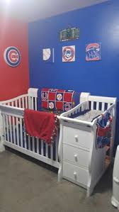 new custom baby crib bedding set mw chicago cubs fabric baby
