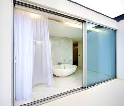 bathroom cute best sliding glass door curtains the most trending