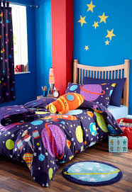 Comforter Ideas Boys And S by Boys Space Rocket Outer Space Bedding Or Curtains Or Room Set