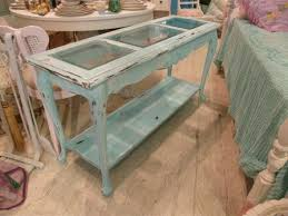Distressed Table Modern Blue Entryway Table With Antique Table Shabby Chic Aqua