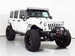 white jeep wrangler unlimited lifted 15 jeep wrangler unlimited lifted 38in toyo tires 2oin wheels led