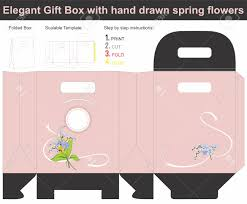 present gift box template royalty free cliparts vectors and