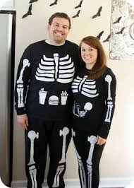 Skeleton Costume Halloween Zombie Maternity Halloween Inspiration