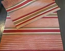 Striped Runner Rug Handwoven Rug Etsy