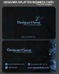 business card designs psd business card styles bluish card design free premium