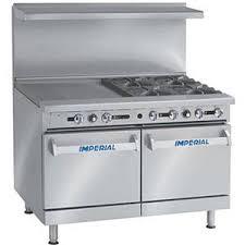 imperial convection oven pilot light imperial range ir 4 g24 48in restaurant range 4 gas burner w 24