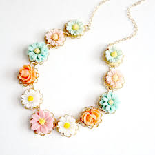 flower girl necklace images Pastel flower girl necklace pastel girls necklace pastel jpg