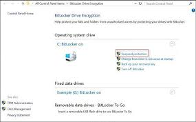 suspend and resume 3 ways to enable suspend or resume bitlocker protection