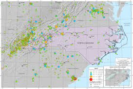 Alabama Time Zone Map by Faults And Earthquakes Western North Carolina Vitality Index