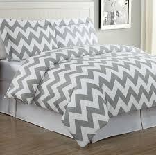 Grey Chevron Crib Bedding Set Bedroom Comfortable White And Grey Chevron Bedding Comforter Set