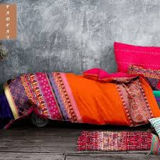 Indian Inspired Bedding Modern Exotic Bohemia Girls Bedding Sets Oriental Unique Fashion