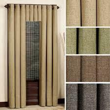 Burlap Panel Curtains Hudson Grommet Window Treatment