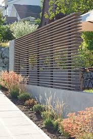 Fence Landscaping Ideas Shed Design Modern Architects Seattle Portage Bay Yardscape Best