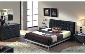 esf 603 queen platform bedroom set dupen toledo 603 black queen size