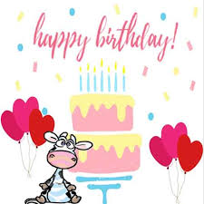 Cow Birthday Card Cute Cow Birthday Card Free Happy Birthday Ecards Greeting Cards