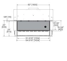 Standard Fireplace Dimensions by Mezzo Series Gas Fireplace Heat U0026 Glo