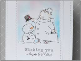 frosty snowman clipart happy birthday collection