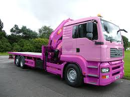 pink pickup truck mv commercial providing sales hiring buy