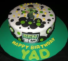 ben 10 cakes birthday image