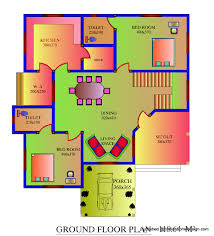square foot house plan modern plans for sq ft bedroom kerala n