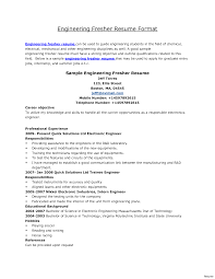 sle resume for biomedical engineer freshers jobs cover letter for driving job sle engineering resume broadcast