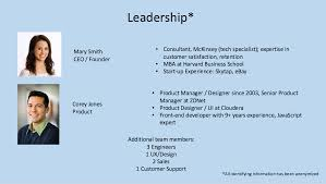 Example Of Introdu The Team Slide You Had Me At Hello For Entrepreneurs