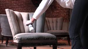 lounge seating makeover in vip section simply spray fabric paint