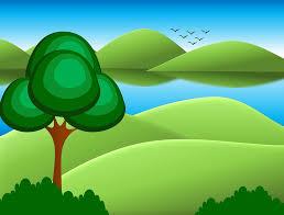 arriere plan bureau animé illustration gratuite dessin animé arrière plan arbres image