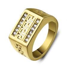 aliexpress buy gents rings new design yellow gold aliexpress buy sz 8 12 mens ring anel aneis vintage jewelry