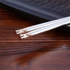 engraved chopsticks custom logo printed engraved chopsticks sterling silver