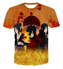 sasuke madara itachi uchiha clan fire 3d naruto t shirt need it