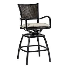 home decorators collection swag swivel bar stool 02761mtl 01 kd u aire swivel barstool outdoor furniture bar stools leather swivel bar stools with back and arms black
