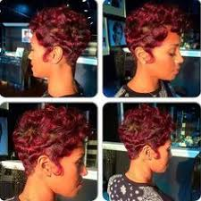 black soft wave hair styles stylist feature flawless waves and curls on this pixie