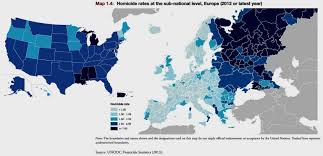 map usa to europe homicide rates europe vs the usa europe