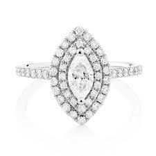 michael hill designer grandarpeggio engagement ring with 1 1 5