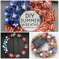 summer wreath 21 diy summer wreaths crystalandcomp