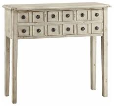 Antique White Console Table Newcastle 6 Drawer Antique White Console 40x10x35 5 Farmhouse