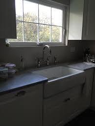 Black Apron Front Kitchen Sink by Kitchen Extraordinary Small Kitchen Decoration Using Light Brown