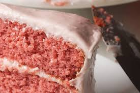 strawberry cake with strawberry cream cheese frosting bake or break