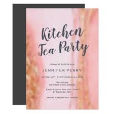 kitchen tea invites ideas kitchen tea invitation pink gold glitter kitchen tea
