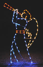 lighted outdoor decorations yard displays