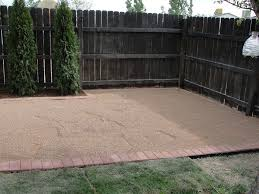 awesome pea gravel backyard architecture nice
